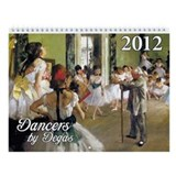 Degas Dancers Wall Calendar