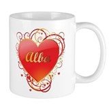 Alba Valentines Small Mugs