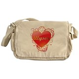 Alyson Valentines Messenger Bag