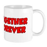 Together Forever Cartoon Coffee Mug