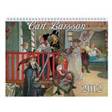 Carl Larsson Wall Calendar
