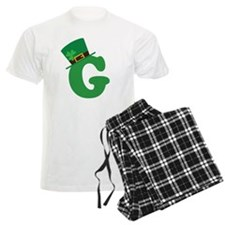 St. Patrick's Day Letter G Pajamas