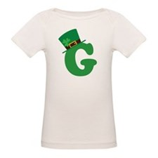 St. Patrick's Day Letter G Tee