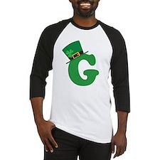 St. Patrick's Day Letter G Baseball Jersey
