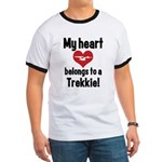 My Heart Belongs to a Trekkie Ringer T