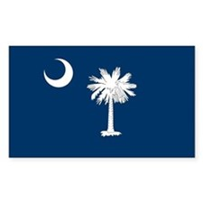 South Carolina Palmetto Flag Decal