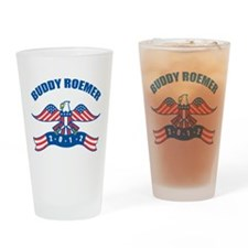 Eagle Buddy Roemer Drinking Glass