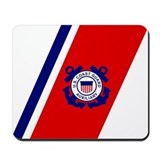 USCG Auxiliary Stripe&lt;BR&gt; Mousepad
