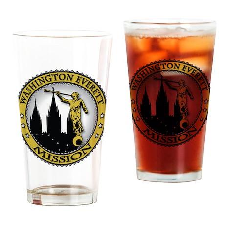 Washington Everett LDS Missio Drinking Glass