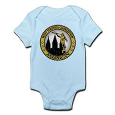 West Virginia Charleston LDS Infant Bodysuit