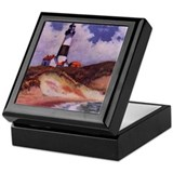 Montauk Lighthouse Keepsake Box