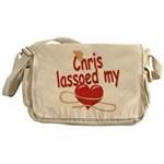 Chris Lassoed My Heart Messenger Bag