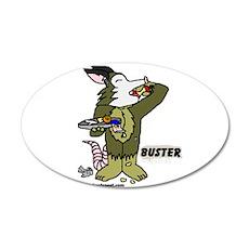 Buster 22x14 Oval Wall Peel