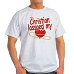 Christian Lassoed My Heart Light T-Shirt