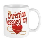 Christian Lassoed My Heart Mug
