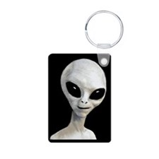 Grey Alien Keychain