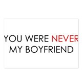 You Were Never Boyfriend Postcards (Package of 8)