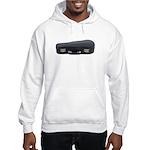 Music Case Laying Down Hooded Sweatshirt
