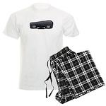 Music Case Laying Down Men's Light Pajamas