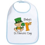 Baby's First St Patricks Day Bib