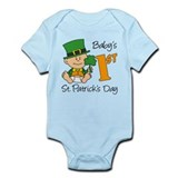 Baby's First St Patricks Day Infant Bodysuit