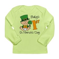 Baby's First St Patricks Day Long Sleeve Infant T-