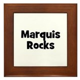 Marquis Rocks Framed Tile