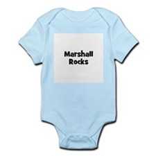 Marshall Rocks Infant Creeper
