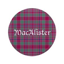 "Tartan - MacAlister 3.5"" Button (100 pack)"