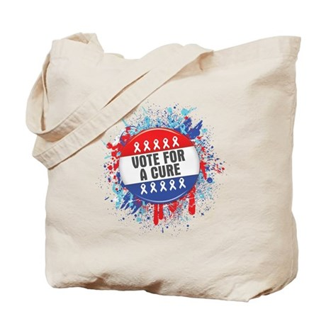 Vote for a Cure For Cancer Tote Bag