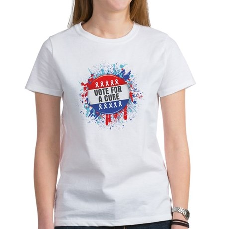Vote for a Cure For Cancer Women's T-Shirt