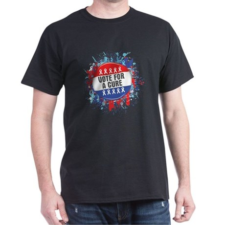 Vote for a Cure For Cancer Dark T-Shirt