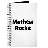 Mathew Rocks Journal