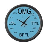 OMG-Large Wall Clock