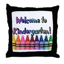 Kindergarten Throw Pillow
