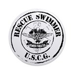 Rescue Swimmer (Ver 2) Ornament (Round)