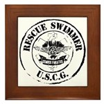 Rescue Swimmer (Ver 2) Framed Tile