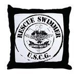Rescue Swimmer (Ver 2) Throw Pillow