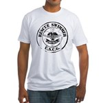 Rescue Swimmer (Ver 2) Fitted T-Shirt