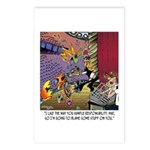 Blame Some Stuff On Me Postcards (Package of 8)