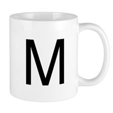 The Letter M Coffee Mug