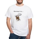 White T-Shirt / Mitt Romney Jack Ass