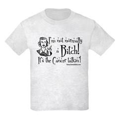 Cancer Talkin'! Kids Light T-Shirt
