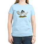 Owl Beard Chickens Women's Light T-Shirt