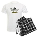 Owl Beard Chickens Men's Light Pajamas