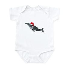 Santa - Whale Infant Bodysuit