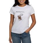 Women's T-Shirt Mitt Romney is a Jack Ass