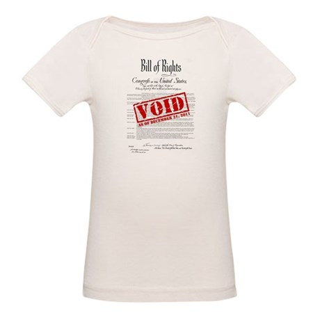 Voided Bill of Rights NDAA Organic Baby T-Shirt