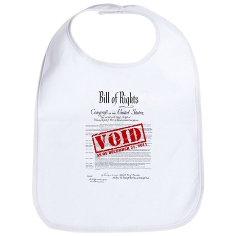 Voided Bill of Rights NDAA Bib