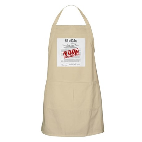 Voided Bill of Rights NDAA Apron